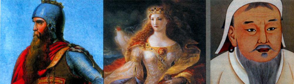100 великих монархов и правителей