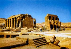 Развалины заупокойного храма Рамсеса 11, или Рамессеум
