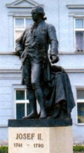 Памятник Иосифу II в Уничове (Чехия)