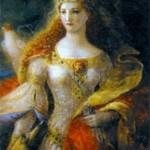 Элеонора Аквитанская (1122-1204), герцогиня Аквитании и Гасконии (1137-1204), королева Франции (1137-1152), королева Англии (1154-1189)
