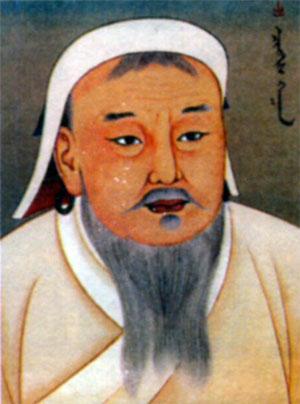 Чингисхан (1155- 1227) правил с 1206 г.