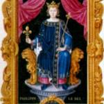 Филипп IV Красивый (1268-1314), король Франции с 1285 г.