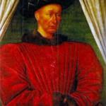 Карл VII Победитель (1403-1461), король Франции (провозглашен в 1422 г., коронован в 1429 г.). Художник Ж. Фуке