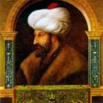Султан Мехмет II Завоеватель (1432-1481), османский султан в 1444-1446 и 1451-1481 гг. Художник Д. Беллини. 1480 г.