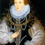Елизавета I Тюдор (1533-1603), королева Англии и Ирландии с 1559 г.