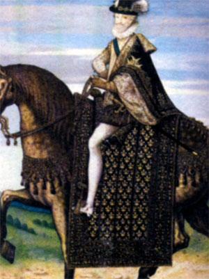 Генрих IV Бурбон (1553-1610), король Наварры с 1572 г., король Франции с 1589 г.v