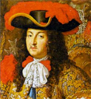 Людовик XIV де Бурбон (1638-1715), король Франции и Наварры с 1643 г. Художник Ч. ле Брун. 1667 г.
