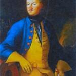 Карл XII (1682-1718), король Швеции с 1697 г. Художник А. Снаппе. 1715 г.