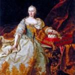 Мария Терезия Вальбурга Амалия Кристина (1717- 1780), эрцгерцогиня Австрии, императрица Священной Римской империи с 1740 г. Художник М. ван Мейтенс. 1744 г.