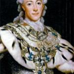 Густав III (1746-1792), король Швеции с 1771 г. Художник А. Росяин. 1777 г.
