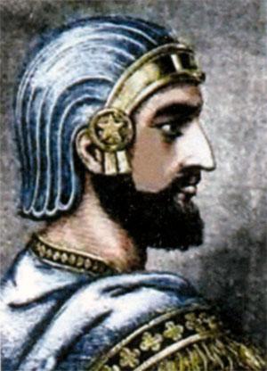 Кир II (ок. 593-530 до н. э.) правил в 558- 530 гг. до н. э.