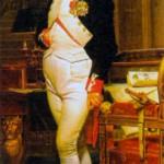 Наполеон I Бонапарт (1769 - 1821) французский император (1804 - 1815). Художник Ж. -Л. Давид. 1812 г.