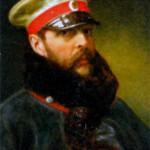 Александр II (1818-1881), император Всероссийский, царь Польский и великий князь Финляндский с 1855 г. Неизвестный художник. 1865 г.