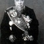 Пауль Крюгер (Стефанус Йоханнес Паулус) (1825-1904), Президент бурской Южно-Африканской Республики в 1883- 1900 гг. Фото 1898 г.
