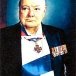 Сэр Уинстон Леонард Спенсер-Черчилль (1874-1965), премьер-министр Великобритании в 1940-1945 и 1951-1955 гг.