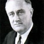 Франклин Делано Рузвельт (1882 - 1945), 32-й Президент США (1933 - 1945). Фото 1933 г.