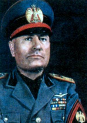 Бенито Амилькаре Андреа Муссолини (1883-1945), премьер- министр Италии в 1922-1943 гг.
