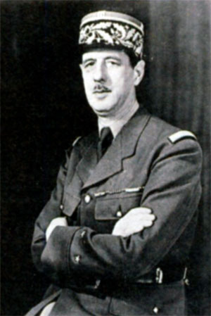 Шарль Андре Жозеф Мари де Галль (1890-1970), 1-й Президент Пятой республики в 1959-1969 гг.