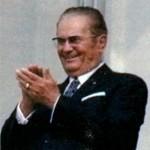 Иосип Броз Тито (1892-1980), Президент Югославии с 1953 г. Фото 1971 г.
