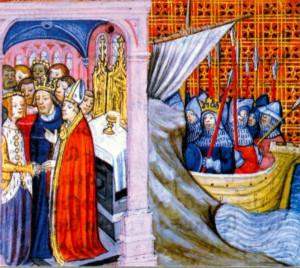 Элеонора Аквитанская выходит замуж за I Людовика VII. 1137 г.