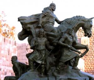 Памятник Салах-ад-Дину в Дамаске