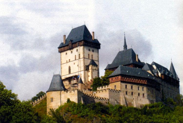 Замок Карлштейн близ Праги
