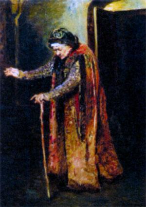 Нянька Ивана Грозного. Художник К. Е. Маковский. 1880 г.