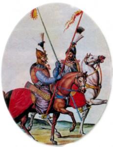 Турецкие сипахи времен Венской битвы
