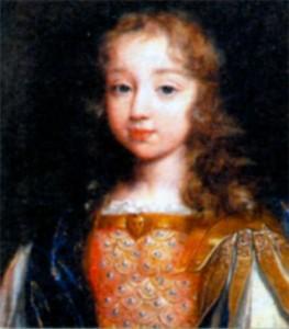 Людовик XIV в детстве