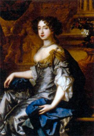 Мария II Стюарт (1662-1694). Художник П. Лели