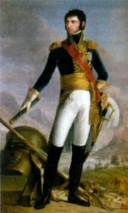 Жан Батист Жюль Бернадот - маршал Франции, король Швеции и Норвегии. Художник Дж.Доу. 1818 г.