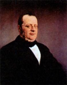 Камилло Бензо ди Кавур (1810-1861). Художник Ф. Хойс. 1864 г.
