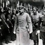 Юзеф Пилсудский в Минске. 1919 г.