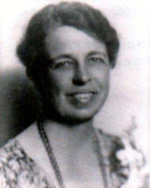Анна Элеонора Рузвельт (1884 - 1962). Фото 1933 г.