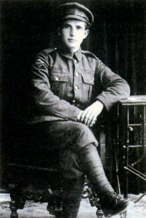 Рядовой Бен-Гурион Еврейского легиона. 1917 г.