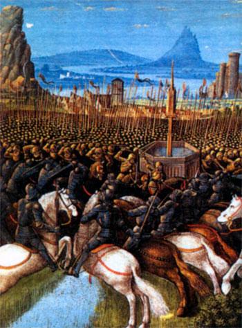 Битва при Хаттине 1187 г.