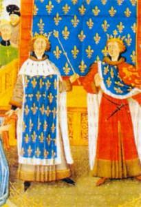 Король Англии Ричард I и король Франции Филипп II
