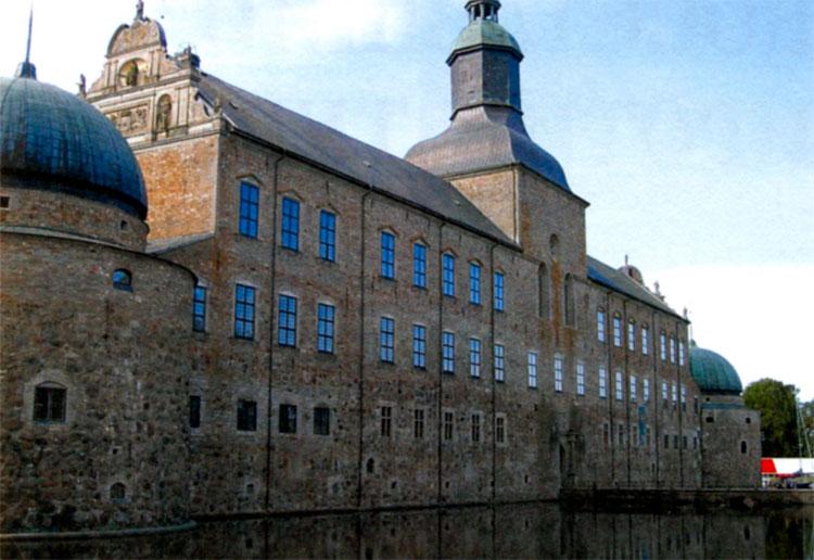 Вадстенскийй замок Густава Вазы под Стокгольмом