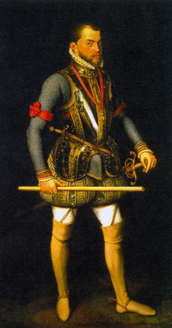 Филипп II. Художник А. Моро