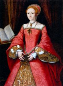 Елизавета I, принцесса. Художнике. Скротс. 1546 г.