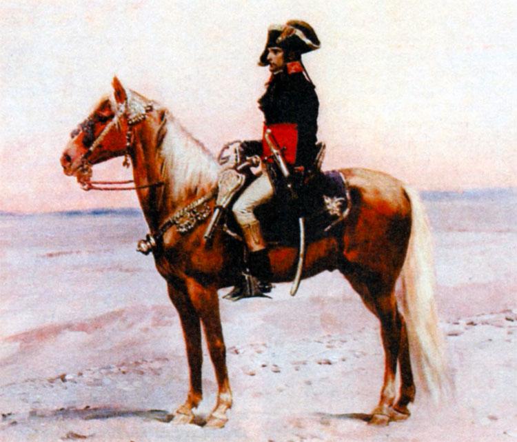 Наполеон в Египте. Художник Ж.-Б. Детайль