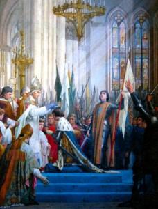 Коронация Карла VII в Реймсе