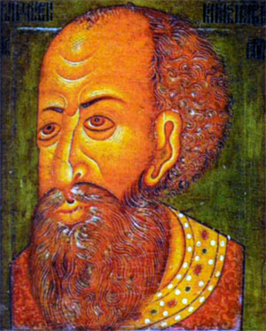 Иван Грозный. Парсуна. Ок. 1600 г.