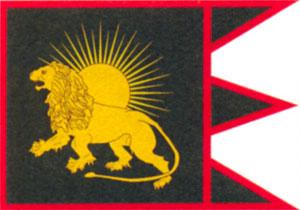 Флаг империи Великих Моголов