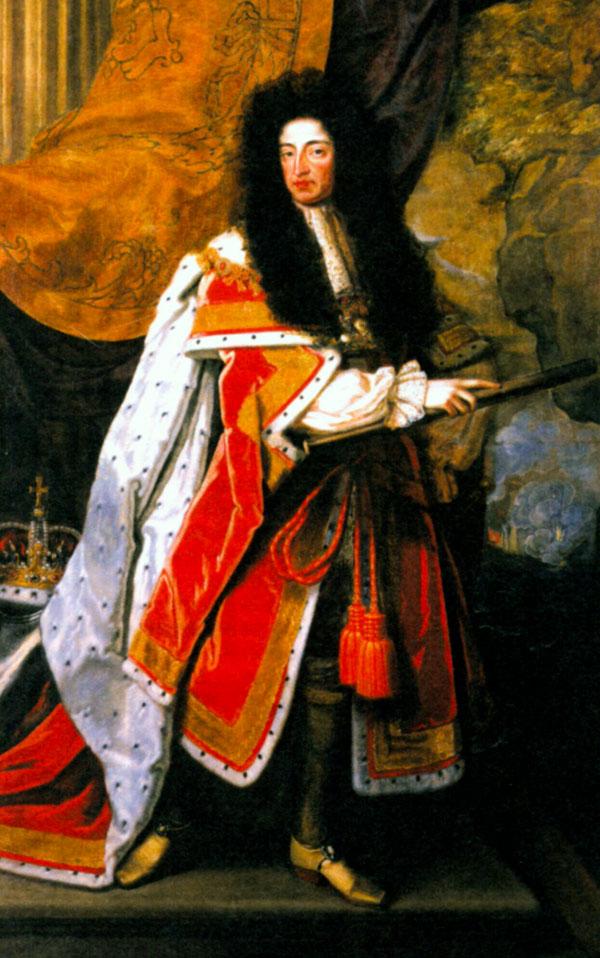 Вильгельм III Оранский. Художник Т. Мюррей. Ок. 1730 г.
