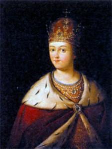 Царевна Софья Алексеевна (1657 - 1704). Неизвестный художник