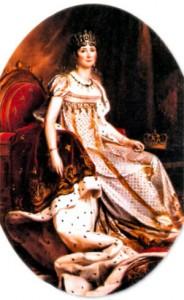 Жозефина Богарне (1763-1814), императрица Франции (1804-1809). Художник Ф. Жерар. 1808 г.