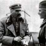 Пилсудский и польский командующий Рыдз-Смиглы. 1920 г.