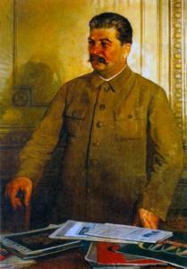 Сталин. Художник И. И. Бродский. 1937 г.