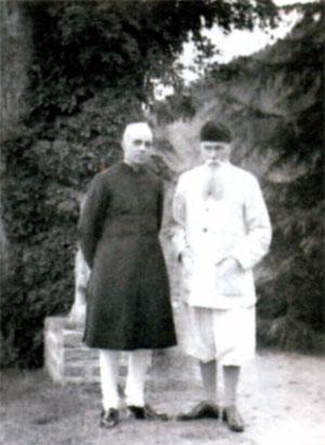 Джавахарлала Неру и Николай Рерих в Кулу (Индия). 1942 г.
